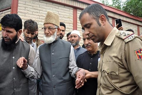 Enough is enough, says Geelani as he asks forces to vacate Kashmir