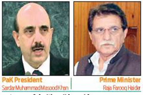 From other side of LoC: PaK Prez, PM vow to support Kashmiris