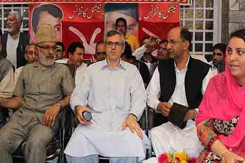 Dialogue only way out to resolve Kashmir: NC