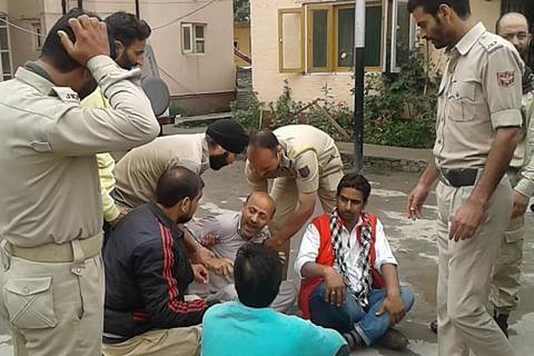 Legislator Rasheed alleges manhandling as police foil his anti-army protest