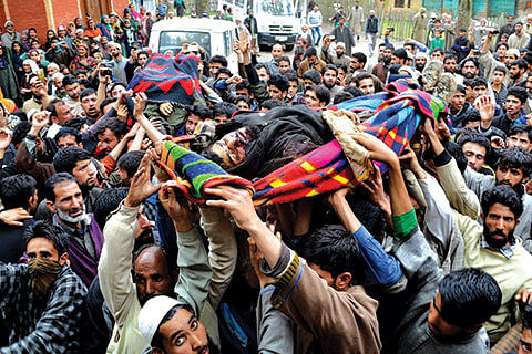 Dance of death seems to have no end in Kashmir: Hurriyat (G)