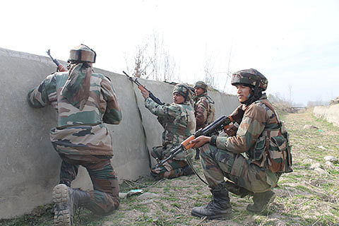 7 militants, cop killed in JK gunfights: Police
