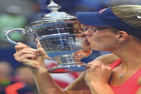 Kerber beats Pliskova to win US Open title