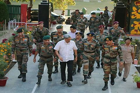 Defence Minister, Army Chief take stock of situation