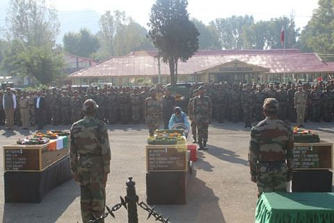 Kashmir CM Mehbooba pays tributes to soldiers killed in Uri attack
