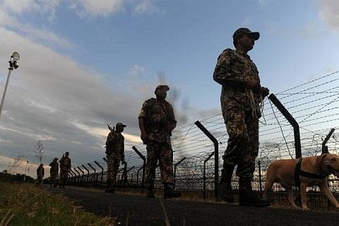 """Troops open fire after 'suspicious movement"""" on LoC"""