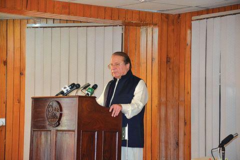 Sharif hopes all members will attend SAARC summit in Pak