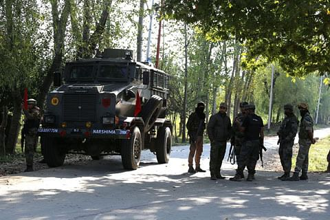 Ammunition recovered in Pulwama village
