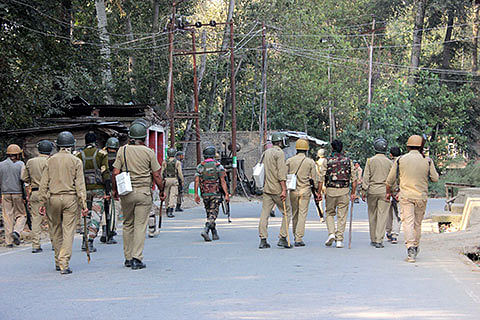 DAY 82: Curfew returns to many parts as forces stop freedom rallies; 40 injured