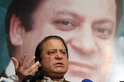 Pakistan parties back Sharif on Kashmir stance