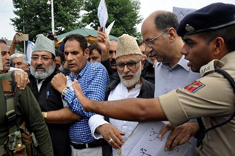 NC delegation says Kashmiris harassed under fig-leaf of law and order, seeks governor's intervention