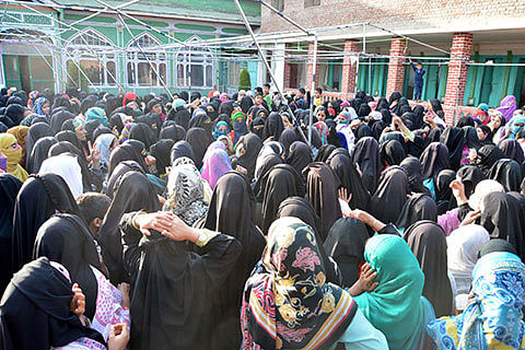 Shutdown completes 88 days: forces foil women rallies, 50 injured