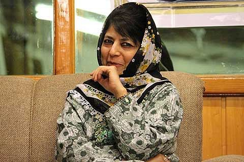 Mehbooba asks PM to 'apply balm on wounds' of JK people