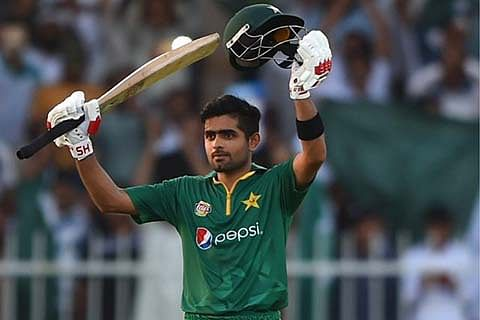 Babar Azam tumbles records with 3rd ton on trot