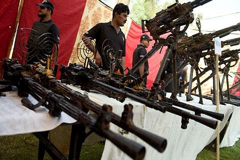Huge cache of NATO weapons recovered in Karachi