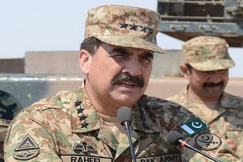 Pakistan army chief urges international community to condemn Indian fabrications