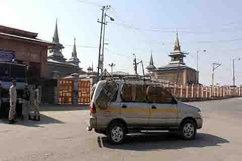 No prayers at Jamia Masjid for 14 successive Fridays