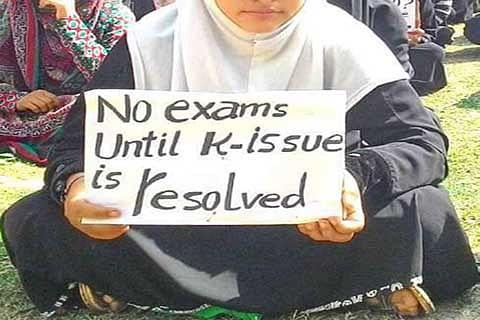 Examination Row: Students submit memorandum to Govt, seek deferment of exams