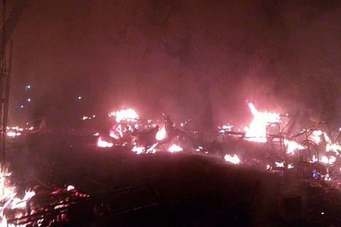 Central Kashmir: Govt school damaged in fire