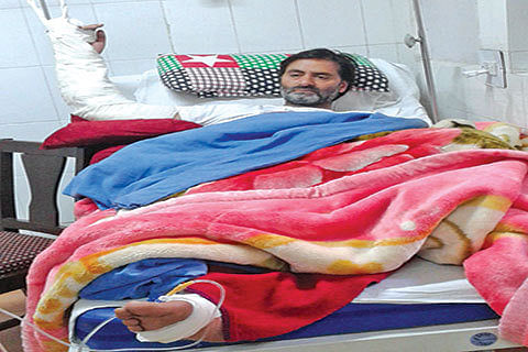 Yasin Malik suffering from fever, arm infection: JKLF