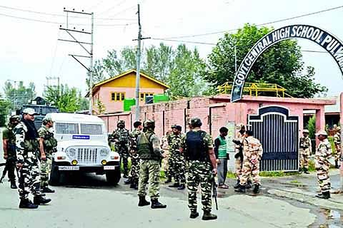 2 months on, forces continue to occupy schools