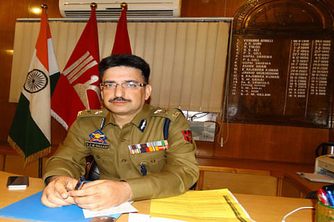 IGP Kashmir not going to France