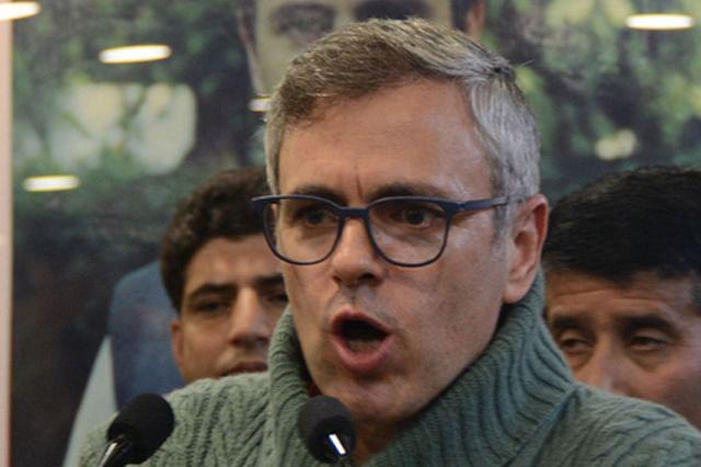 Omar Abdullah Address Party Workers In Srinagar