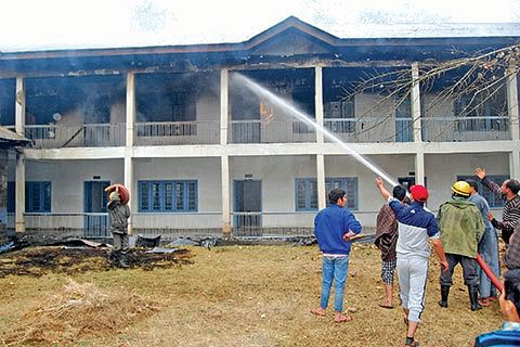 35 persons involved in burning schools identified: DIG South Kashmir