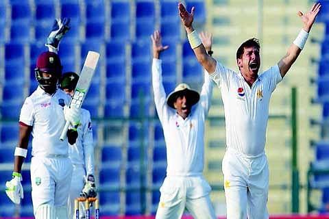 Pakistan v/s West Indies: Brathwaite, Holder lift WI in 3rd Test