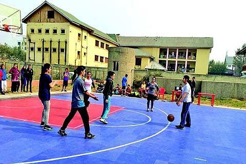 Basketball tournament begins at Indoor Stadium