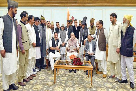 Vikas, Vishwas cornerstones of initiatives for JK: PM