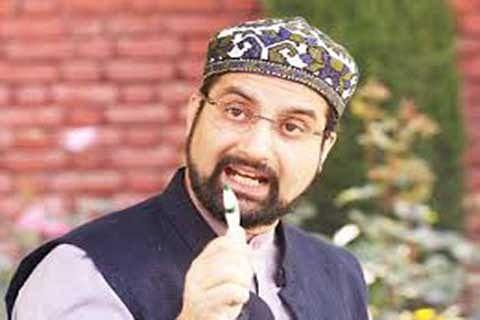Mirwaiz denounces Qaisar's 'killing'
