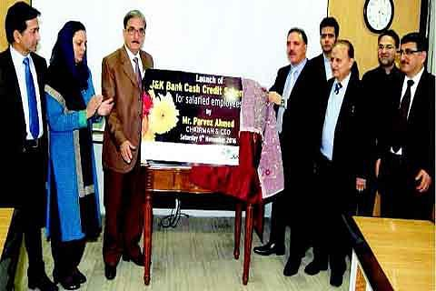J&K Bank launches 'Cash Credit Scheme' for salaried employees