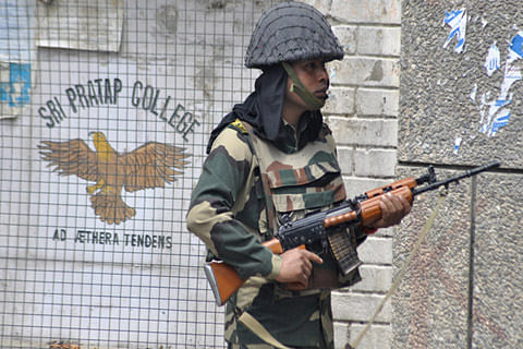 Paramilitary forces evacuated from Nishat school