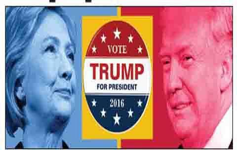 Trump trumps Clinton