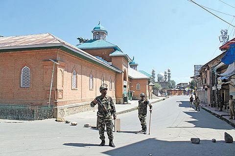 No Friday prayers offered at Jamia Masjid Shopian for past 18 weeks