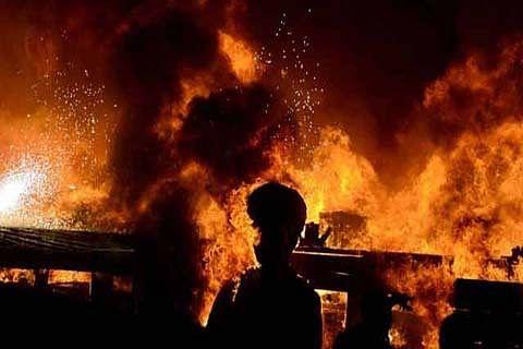 40 shops gutted in Kupwara market blaze