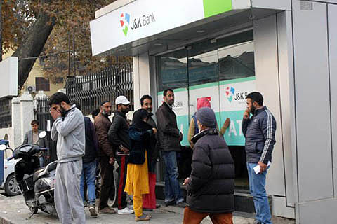 Demonetization deflates claims of black money, hawala in Kashmir