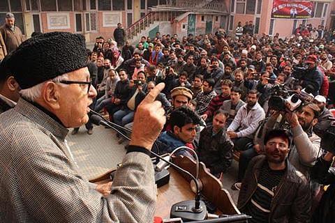Kashmir won't remain part of 'Hindu India:' Farooq Abdullah
