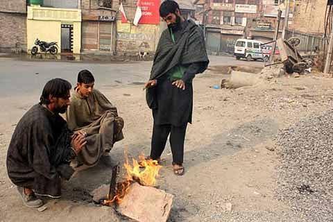 Srinagar records coldest night of winter