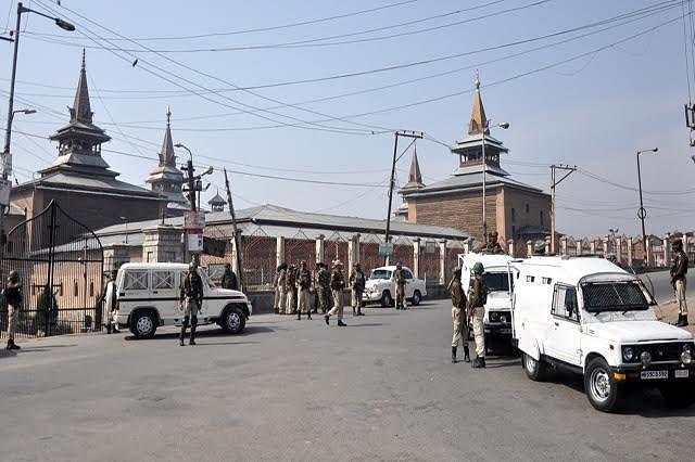 The siege of Jamia Masjid