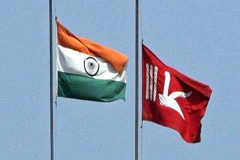 Why can't JK's flag fly alongside tricolor? asks MLA Langate