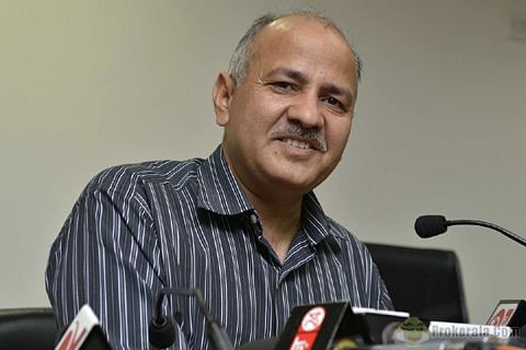 Delhi Deputy CM detained after protest, released