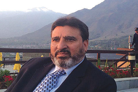 Altaf Bukhari distressed over prolonged power outages