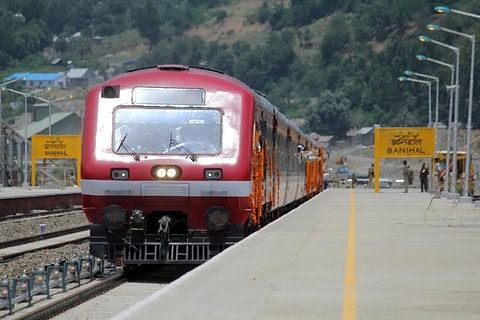 Video: Train services resume between Kashmir and Banihal