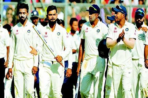 India thrash England in 4th Test to seal series