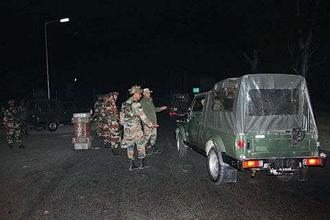 NAGROTA ATTACK: Militants used silencer-fitted weapon to enter Army camp
