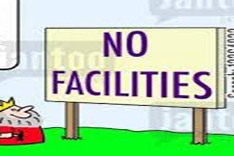 Zaffran Colony sans basic amenities