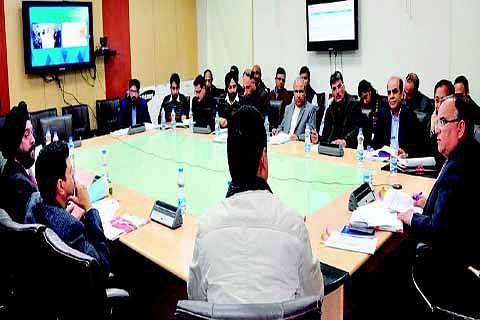 Chief Secretary chairs 4th meeting of SHPSC on AMRUT