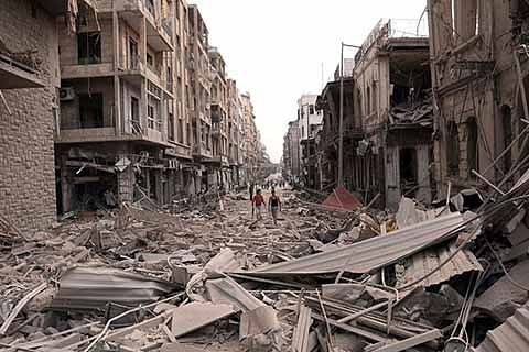 As Syria suffers ….